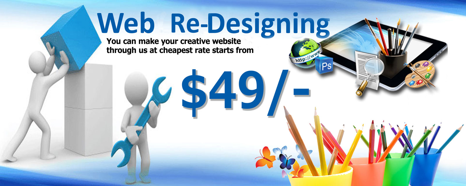 Website Re-Design company in delhi